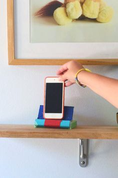 Make a phone stand // willowday