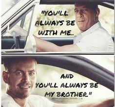 Vin & Paul = Brotherhood <3