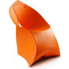 Раскладное кресло Flux chair Оранжевый