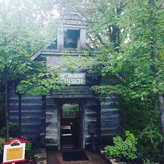 Did you know? The Wilderness Chapel at @silverdollarcityattractions was originally built north of Branson in 1849, then re-constructed in its current location. Thanks carlinfit for sharing your photo with us! #ExploreBranson #SDC #Chapel