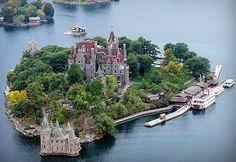 Alexandria Bay Boldt Castle | ALL THINGS NEW YORK: Wine festival on an island