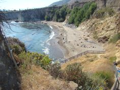 Shelter Cove Beach. San Luis Obispo, California.