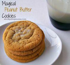 Paula Deen's Magical Peanut Butter Cookies #Recipe  http://www.stockpilingmoms.com/2013/01/paula-deens-magical-peanut-butter-cookies/