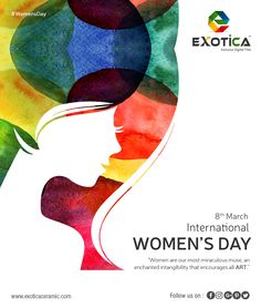 Leading manufacturers of Digital wall TIles in morbi in India Women's Day 8 March, 8th Of March, Happy Woman Day, Happy Women, National Days, Digital Wall, Wall Art Designs, Ladies Day, Wall Tiles