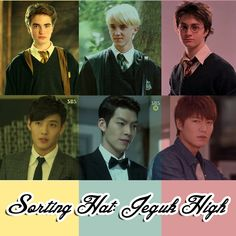HEIRS SORTING HAT: If Jeguk High was Hogwarts