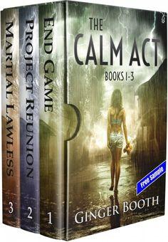 instaFreebie - Claim a free copy of The Calm Act Books 1-3, Sample  #scifi #instaFreebie