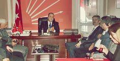 Cumhuriyet Halk Partisi (CHP) Kozlu İlçe Başkanı Cengiz Bank ve yönetim kurulu üyeleri, Kdz. Ereğli Cumhuriyet Halk Partisi Kdz. Ereğli İlçe Başkanı Ş. Sertan Ocakcı ve Yönetim Kurulu ..