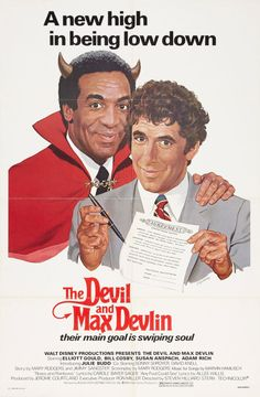 US one sheet for THE DEVIL AND MAX DEVLIN (Steven Hilliard... Movie Poster of the Day