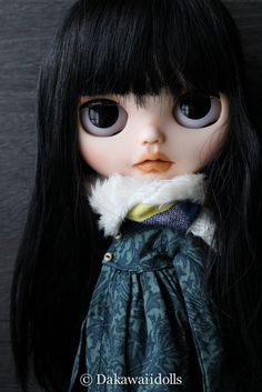 One Customized OOAK Blythe Doll / TOUKO / custom by Dakawaiidolls by…