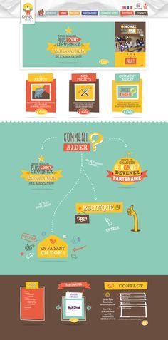 Unique Web Design, Karibu Reve #WebDesign #Design (http://www.pinterest.com/aldenchong/)