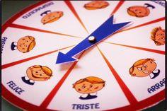 """La """"Ruota delle Emozioni"""" è una base perfetta per molteplici attività divertenti e utili a promuovere lo sviluppo emotivo dei bambini"""