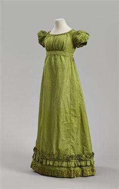 Image result for green regency dress