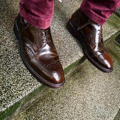 #Shoes #Elegance #Fashion #menfashion #menstyle #Luxury #Class #Crockettandjones #Shellcordovan