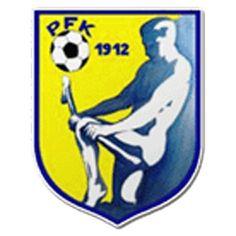 1912, PFK Piešťany (Slovakia) #PFKPiešťany #Slovakia (L18333) Ferrari Logo, Disney Characters, Fictional Characters, Soccer, Logos, Sports, Football Squads, World, Badges