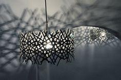 Lobby Lamp, artist Jakob Hentze, modulating light, shadows, atmospheres, lamp, lobby