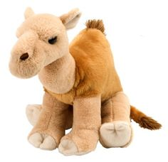 Cuddlekins Camel Dromedary (12-inch) at theBIGzoo.com, a toy store featuring 3,000+ stuffed animals.