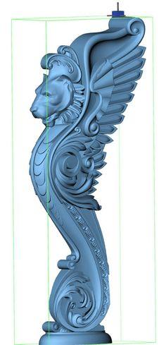Set de décoration volutes art decor style visage Décoratif Moulures