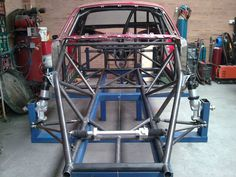 Loues Cosentino uploaded this image to full Chassis Drag car'. See the album on Photobucket. Tube Chassis, Fox Body Mustang, Metal Fab, Roll Cage, Drag Cars, Drag Racing, Cool Websites, Custom Cars, Carbon Fiber