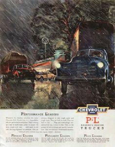 1950 Chevrolet Truck Ad