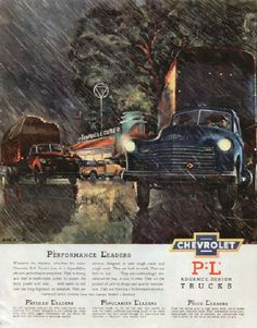 1950 Chevrolet Truck Ad