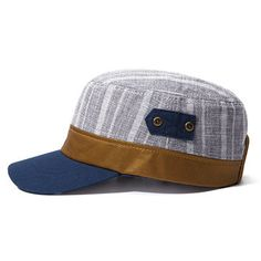 c9e58c72f7a Men Vintage Flat Cap Outdoor Baseball Visor Hat Breathable Cotton Duck Cap  Fashion Army Cap Винтажный