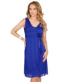 Sheer Sweetheart V-Neck Empire Draped Flowy Evening Cocktail Bridesmaid Dress , COBALT Medium Hot from Hollywood,http://www.amazon.com/dp/B00CO6K8PK/ref=cm_sw_r_pi_dp_olixsb02VE7TDNT4