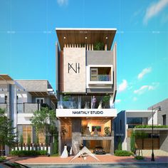 Small House Design Exterior Bungalows Ideas For 2020 Bungalow House Design, House Front Design, Small House Design, Minimalist House Design, Office Building Architecture, Facade Architecture, Building Exterior, Modern Architecture House, Modern Exterior House Designs