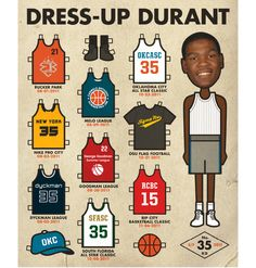 ESPN by Robb Harskamp, via Behance    basketball paper doll. now this is some sports i can get into