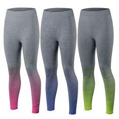Mode Femme High Waist Fitness YOGA Running Long Pants Sport Cropped Leggings