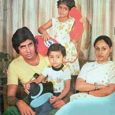 Amitabh and Family