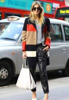 Resultado de imagen para leather leggings street style