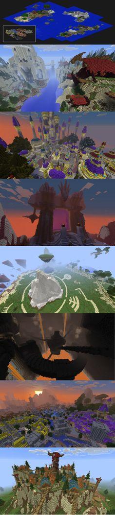 Azeroth in Minecraft