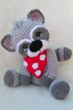 Raccoon, Simply Cute Crochet Pattern | Craftsy