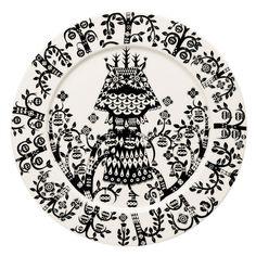 Taika plate 27 cm by Iittala.