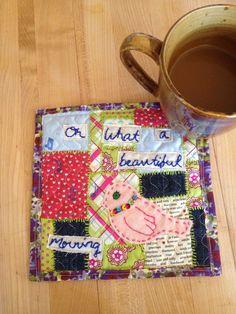 Summer project#2: mug rug