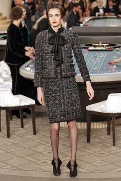 hanel inverno 2016: o cassino de Karl Lagerfeld tem até noiva genderless | MdeMulher