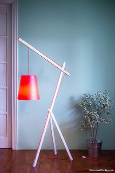 Elegant DIY Lamps Created For Under $50 Dollars Using Recycled Parts - RemoveandReplace.com