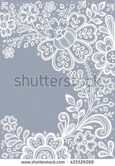 Стоковые вектора и векторный клип-арт Lace | Shutterstock