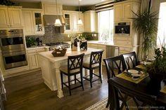antique white kitchen cabinets - Google Search