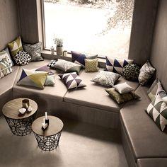 Wire Basket / Cushions / storage / interior textile / design / scandinavian / Ferm Living / nature