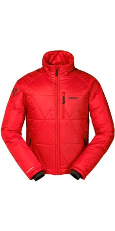 Musto Evolution Baltic Jacket in True Red Se1610 - Musto Evolution Range - Musto…