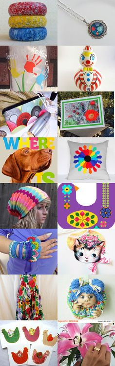 * Carnival of paints *   by Elena Glushchenko on Etsy--Pinned+with+TreasuryPin.com