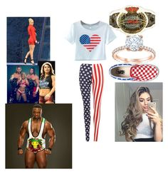 """Match Against Lana /w Rusev , Anderson , Gallows , Eva Marie , Carina , and Nia Jax vs. Kaylee /w Blake , Kaitlyn , Big E , Alexa and Murphy"" by xoxohugsxoxo ❤ liked on Polyvore featuring Chicnova Fashion, WearAll, Vans and TNA"