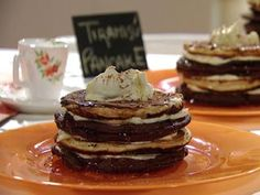 Recetas   Tiramisú pancakes   Utilisima.com