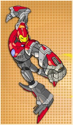 Ultimate Iron Man - Marco D'Alfonso a.k.a. M7781