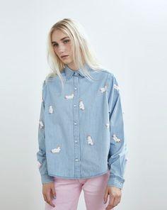 Lazy Oaf Pom Pom Bunny Shirt - Autumn 2016 - Seasons - Womens