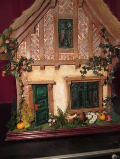 Puppenhaus 1:12 Cottage von Mezzanottis auf Etsy