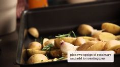 Oven-roasted rosemary potatoes | Kitchen Stories