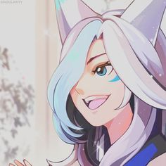 Lol League Of Legends, Anime Neko, Kawaii Anime Girl, Anime Art, Fantasy Character Design, Character Art, Liga Legend, Cute Icons, Fantasy Characters