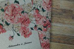 vintage roses | Zaproszenia Slubne